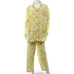 Victoria's Secret Yellow Pajamas Set